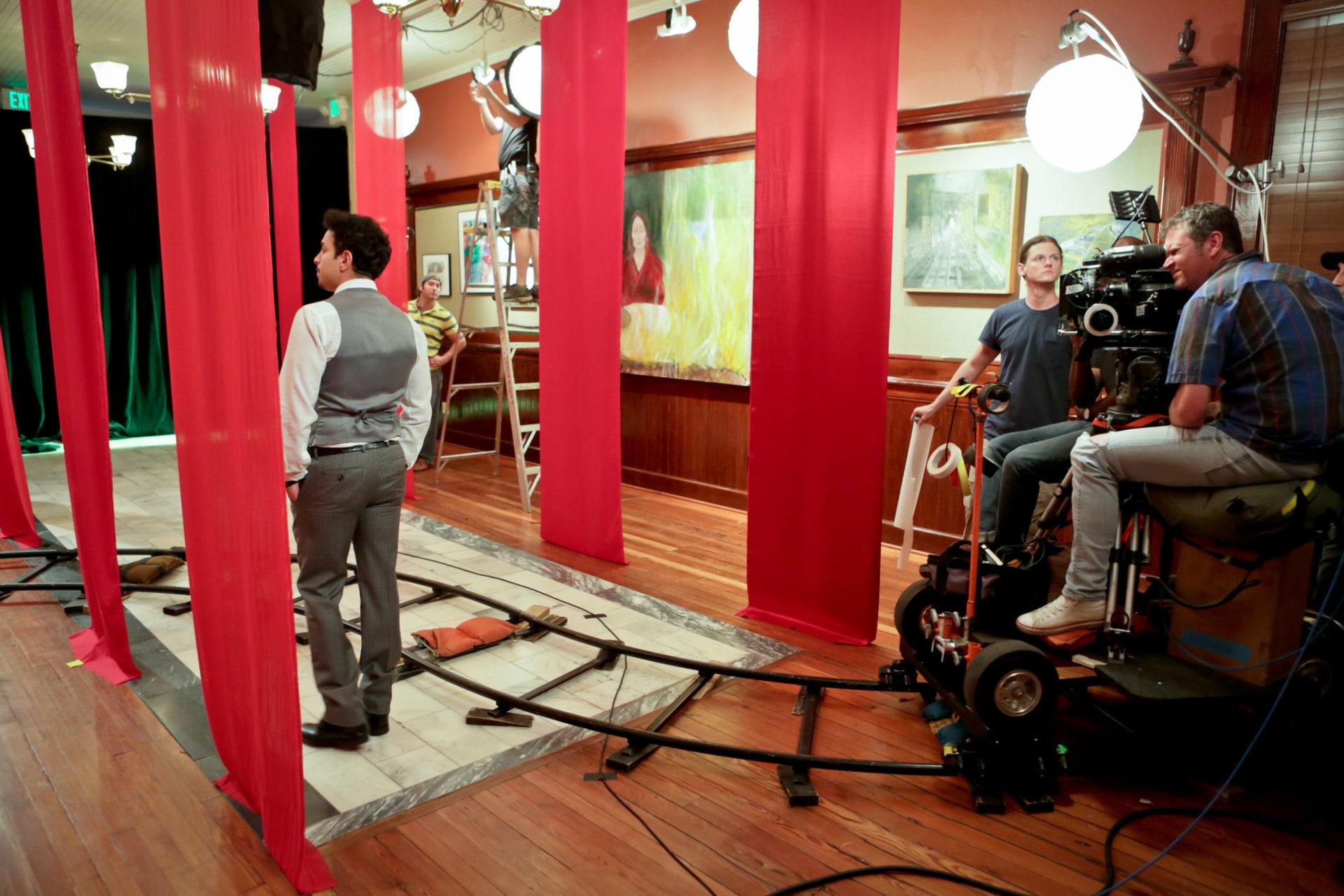 Desires of the Heart 2013 Savannah James Kicklighter On Set 3