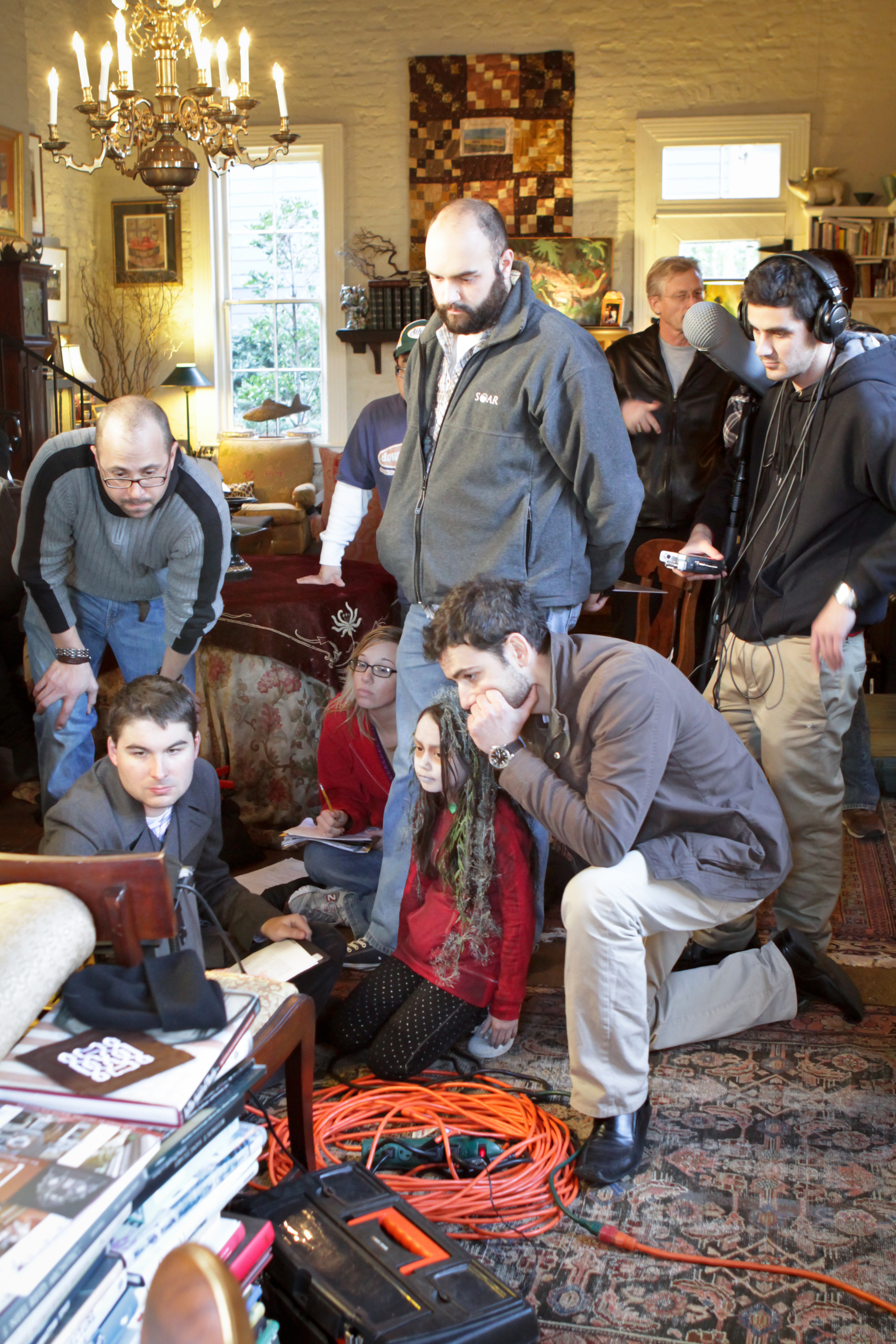 Followed Will McIntosh 2011 director James Kicklighter on set 5